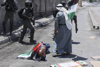 Resultan heridos más de 380 palestinos, tras ataques israelíes en Cisjordania