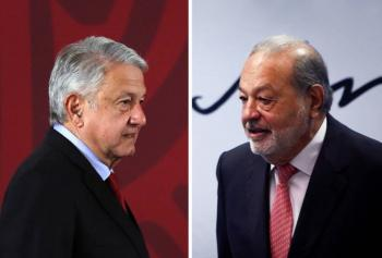 AMLO: Carlos Slim actúa de manera responsable e institucional
