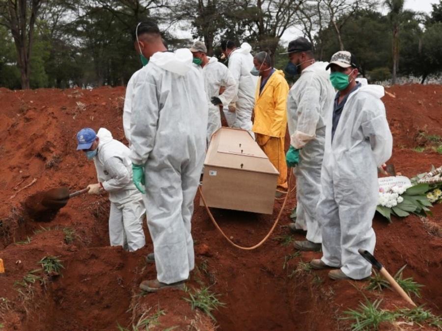 En Brasil el número de muertos por covid asciende a 500,000