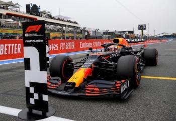 Max Verstappen logra la 'pole' en GP de Francia; Checo Pérez arrancará cuarto