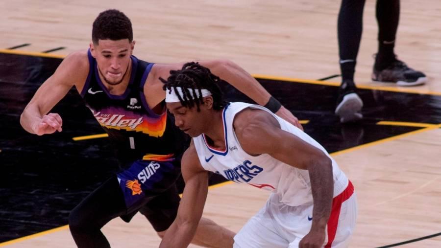 Los Suns vencen en el primer partido a los Clippers