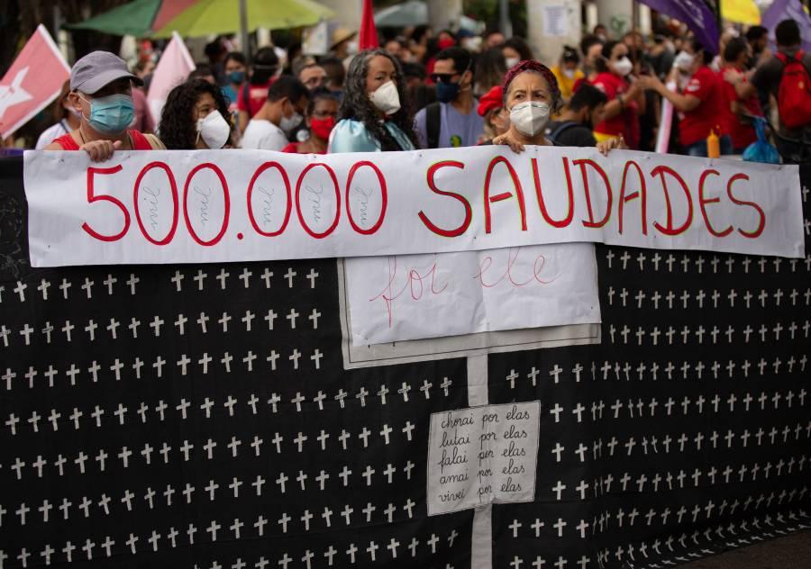 Brasil ya superó los 500 mil decesos por Covid-19