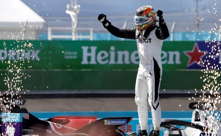 Edoardo Mortara gana segunda carrera del ePrix de México
