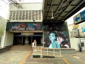 Recuperan espacios públicos con murales en estaciones del Metro