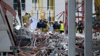 Bélgica: Mueren cinco personas tras colapso de escuela en construcción