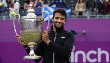 Matteo Berrettini gana el torneo de Queen's