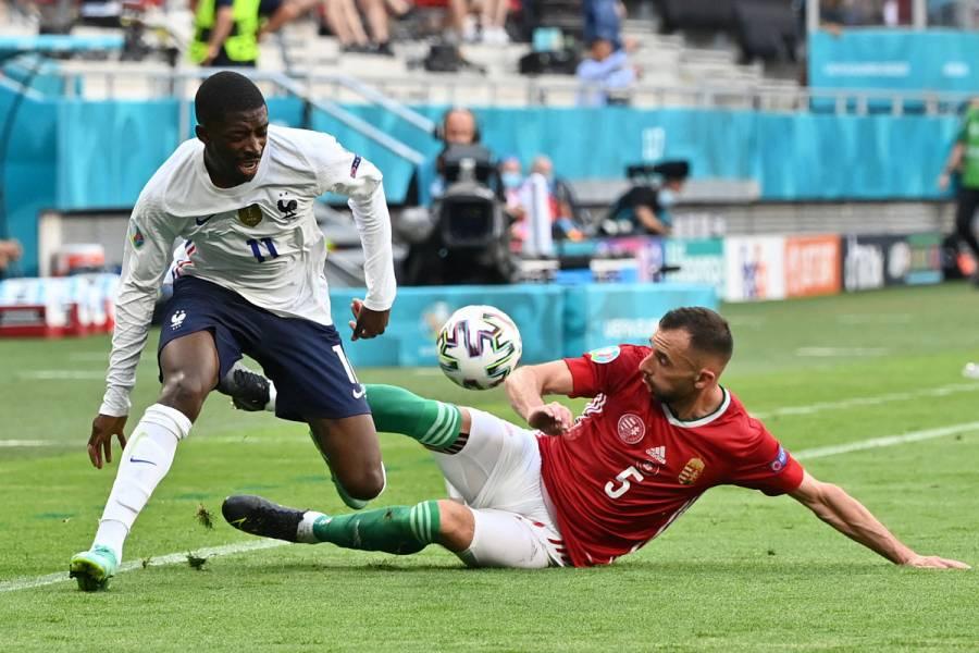 Dembélé se despide de la Eurocopa por una lesión de rodilla