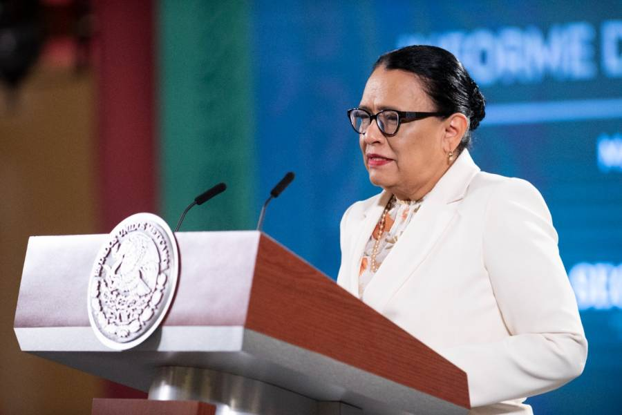 A la baja delitos federales, asegura Rosa Icela Rodríguez