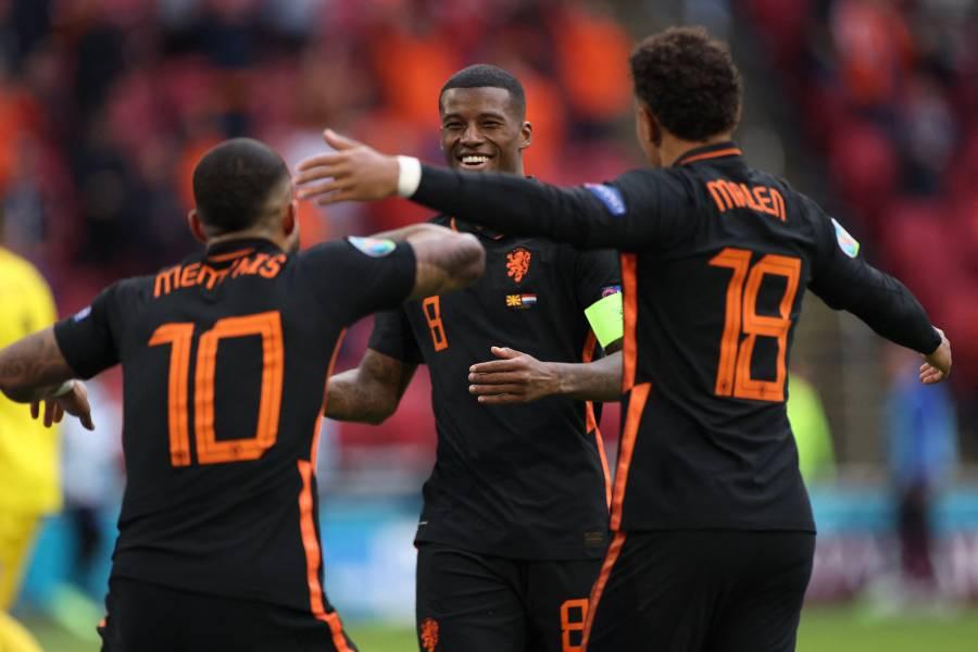 Eurocopa: Países Bajos logra el pleno de victorias en el adiós de Pandev