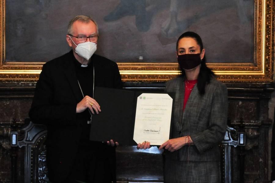 GobCDMX nombra huésped distinguido a Pietro Parolin, secretario de Estado del Vaticano