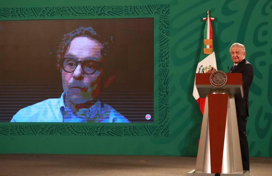 AMLO llama a reflexionar a quienes votaron contra la 4T y exhibe a Gabriel Quadri