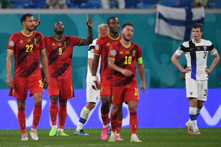 Eurocopa: Con suplentes, Bélgica pasa invicta a octavos de final
