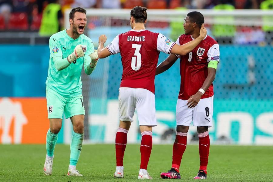 Eurocopa: Por primera vez en su historia, Austria avanza a segunda fase