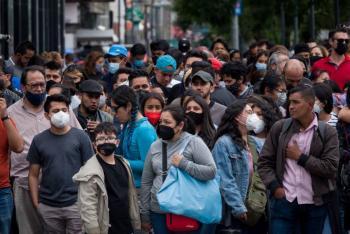 México registra mil 268 nuevos casos de coronavirus y otros 57 fallecidos
