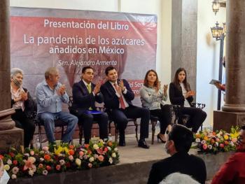 La verdadera pandemia no es la Covid-19, sino los azúcares añadidos: Senador Alejandro Armenta
