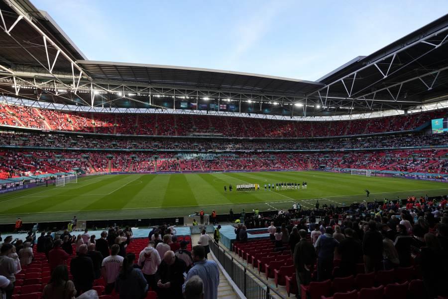Autorizan más de 60 mil espectadores para semifinales y final de la Euro en Wembley