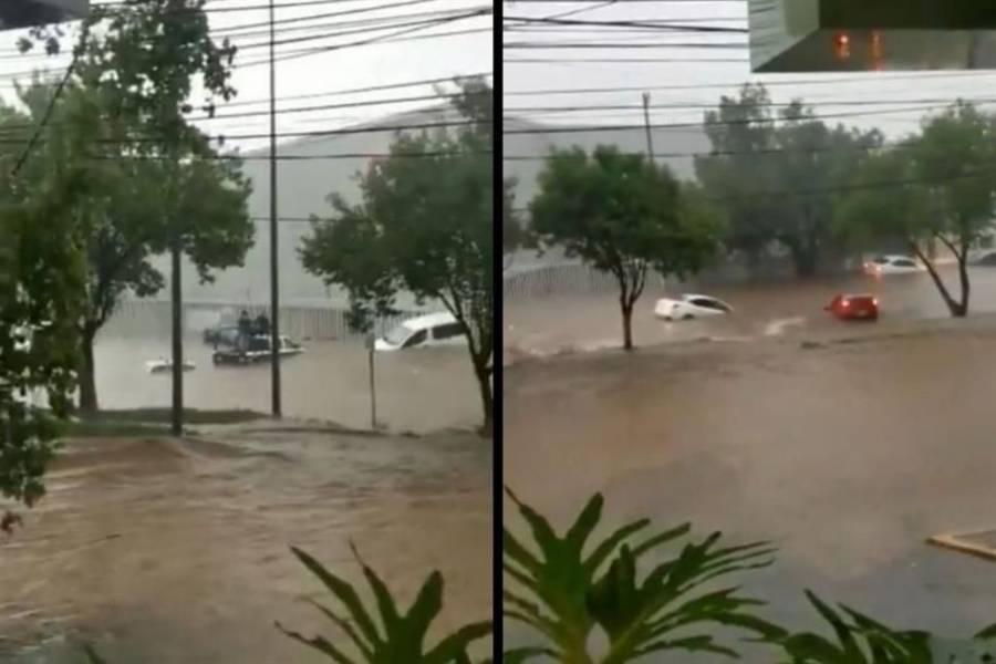 Se registran grandes inundaciones en Edomex