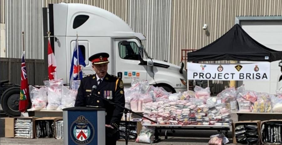 Atrapan a banda que transportó durante 6 meses drogas a Canadá