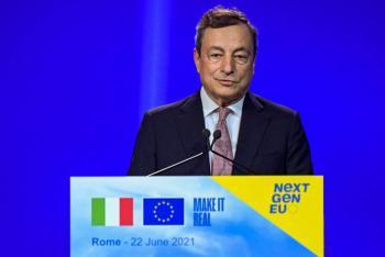 Unión Europea autoriza plan de reactivación económica de Italia