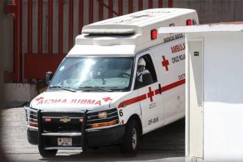 Captan a paramédicos de la Cruz Roja robando un banco en tiendita de CDMX
