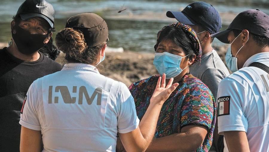 En México detuvieron a 240 migrantes indocumentados, incluidos 61 menores