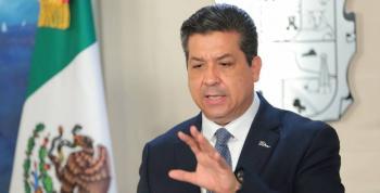Amaga senadora con desaparición de poderes; oposición busca blindar a gobernador de Tamaulipas