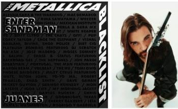 """Maravilloso sueño ser parte de """"The Metallica Blacklist"""": Juanes"""