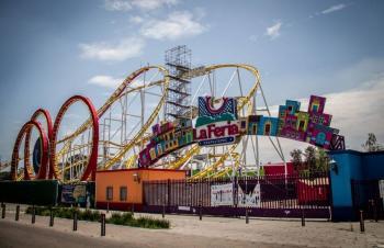 Detienen a 14 personas por allanar la Feria de Chapultepec