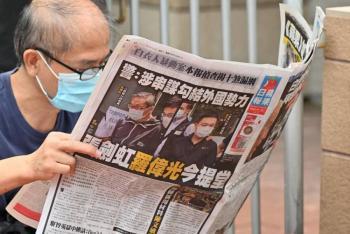 Apple Daily, medio prodemocracia en Hong Kong, cerrará tras presión de Beijing