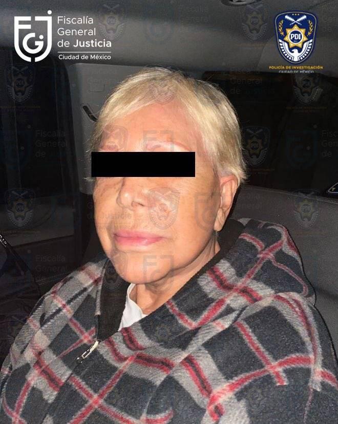 Detienen a Alejandra Barrios, lideresa de vendedores ambulantes de CDMX