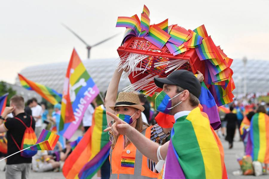 Líderes de 16 países de UE piden respeto de derechos de comunidad LGTB