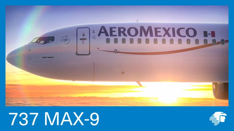Aeroméxico reconoce a comunidad LGBTQ+: pinta avión de colores
