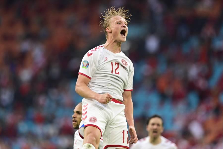Eurocopa: Dinamarca barre a Gales y clasifica a cuartos de final