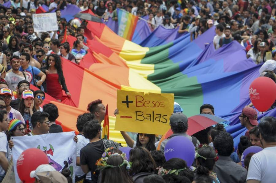 Comienza marcha del Orgullo LGBT+ en la CDMX