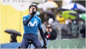 El ciclista Marc Soler se retira del Tour con fracturas en el brazo izquierdo