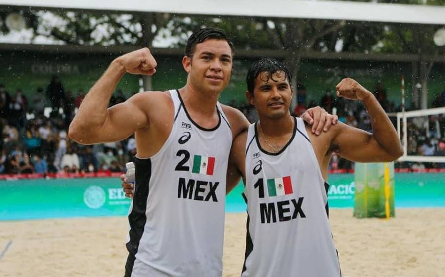 Consigue México plaza olímpica en voleibol de playa
