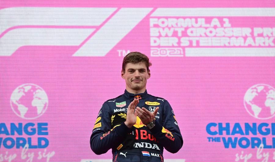 """Verstappen se corona en el GP de Estiria; """"Checo"""" Pérez queda cuarto"""