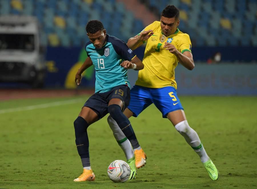 Copa América: Ecuador rompe maldición y clasifica al empatar a Brasil