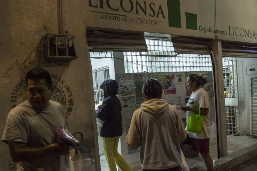 Garantizan abasto de leche en el país pese a lluvias y pandemia