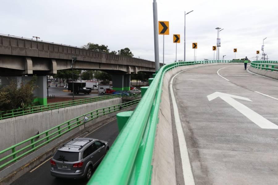 Se inauguró puente vehicular que agilizará tránsito en Zaragoza