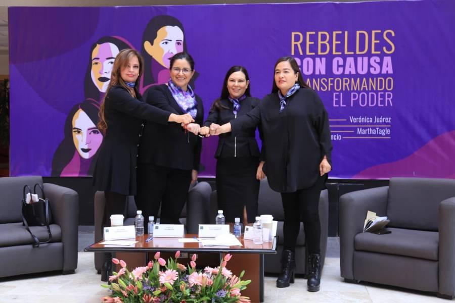 """Diputadas del PAN, MC, PRD y Morena crean movimiento """"Rebeldes con Causa"""""""