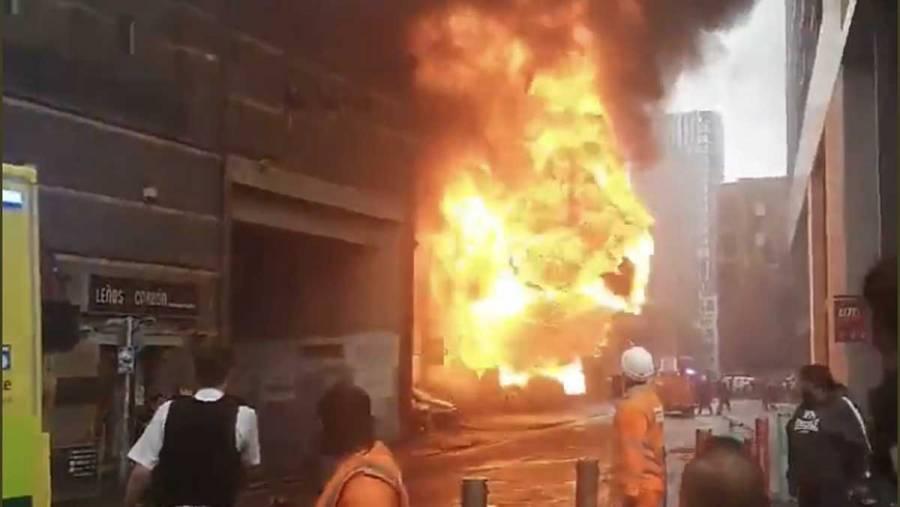 Reportan explosión cerca de estación de tren en Londres