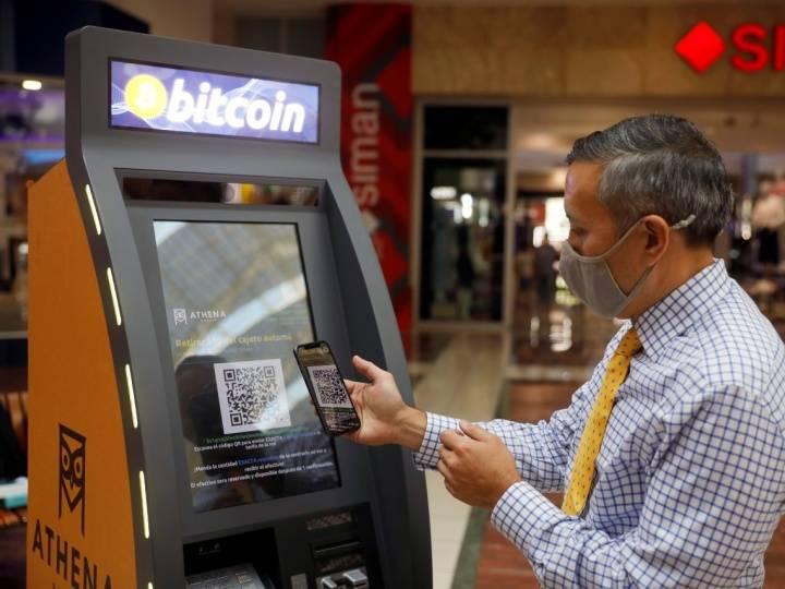 El Salvador inicia con instalación de cajeros Bitcoin