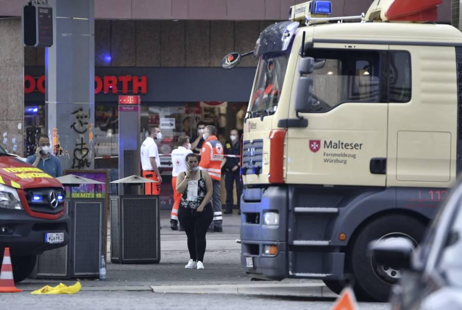 Dos heridos en un ataque con arma blanca en Alemania