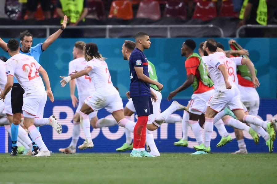¡Sorpresa en la Euro! Suiza elimina a Francia en penales