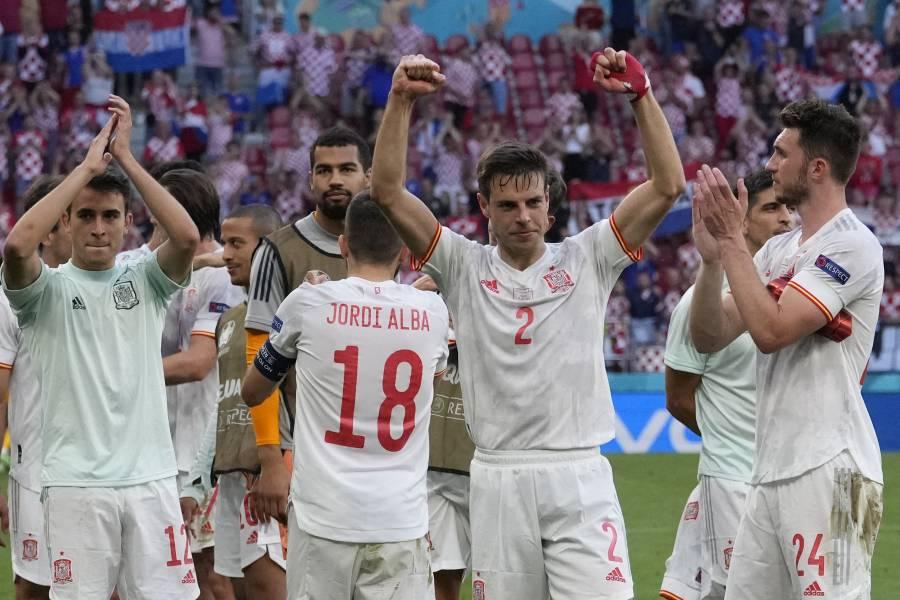 Eurocopa: España sufre ante Croacia pero avanza a cuartos de final