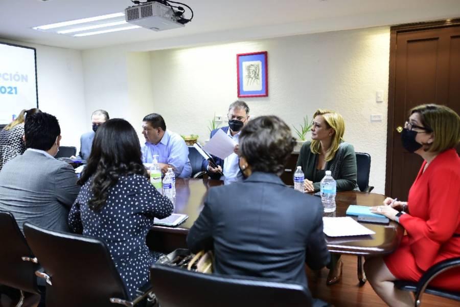 Chihuahua: Maru Campos se reúne con secretaria de Función Pública estatal por cambio de gobierno