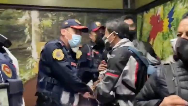 Tras agresión a reporteros, SSC separa de sus cargos a policías