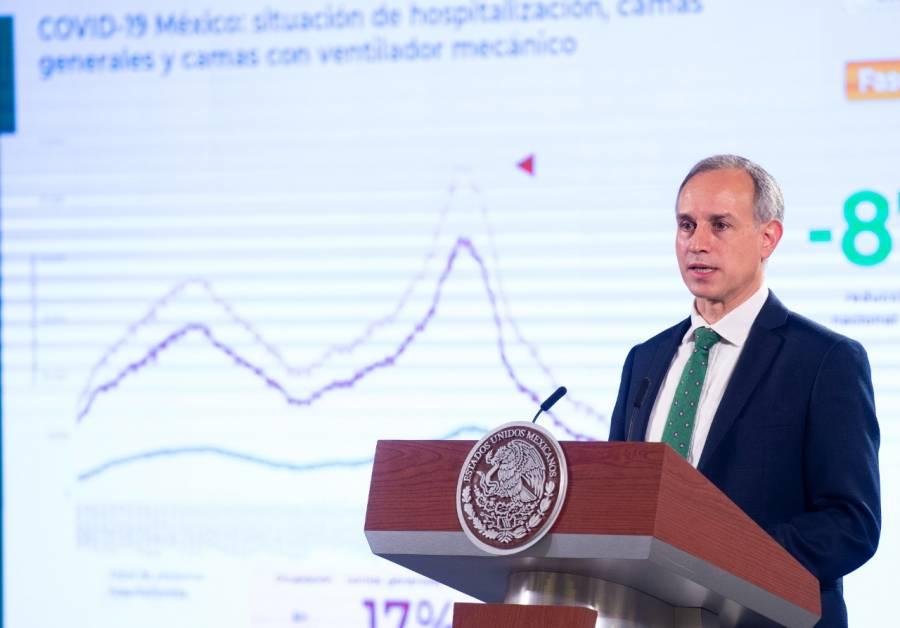 México tiene incremento de casos por COVID-19 de 12%: López-Gatell
