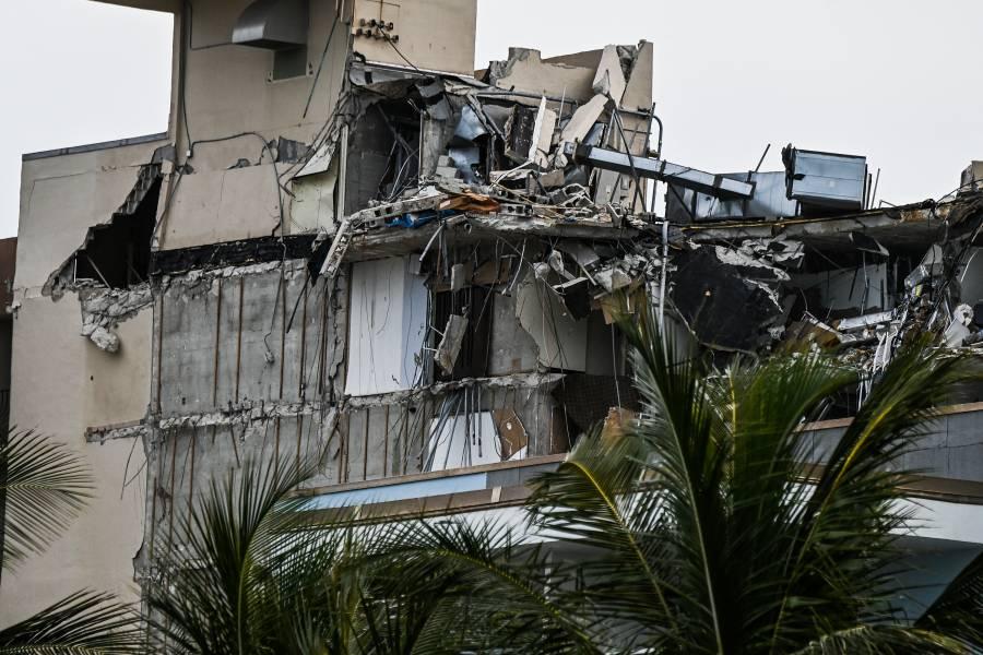 Tras derrumbe de edificio en Miami, suman 12 víctimas mortales